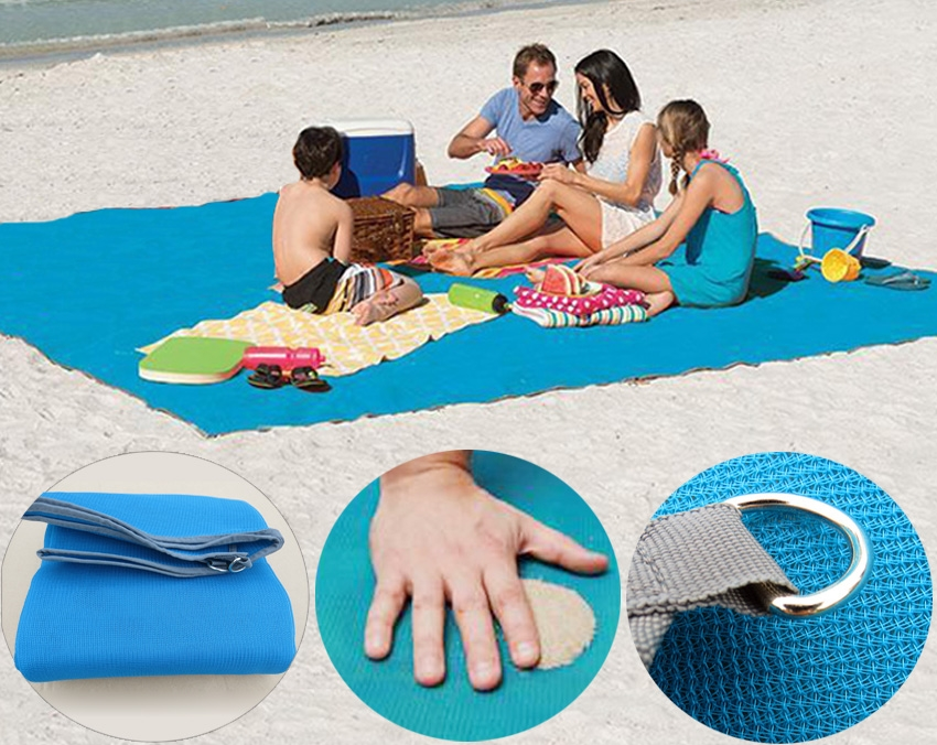 outdoor mat sand free