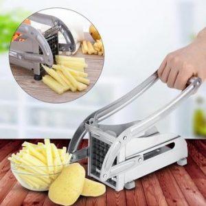 stainless-steel-metal potato chip cutter