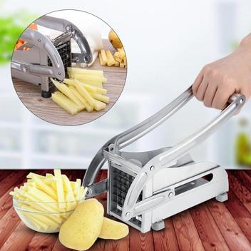 stainless-steel-metal potato chip cutter